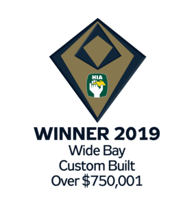 HIA Winner 2019 Custom Built Over $750,001